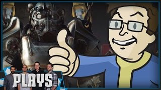Greg Miller Plays Fallout 4 (24 Hours In) - Kinda Funny Plays