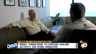TEAM 10: Email threatens to expose online activity on porn websites