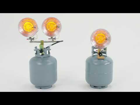 Dyna-Glo 15K & 30K LP Tank Top Heaters TT15CDGP, TT30CDGP