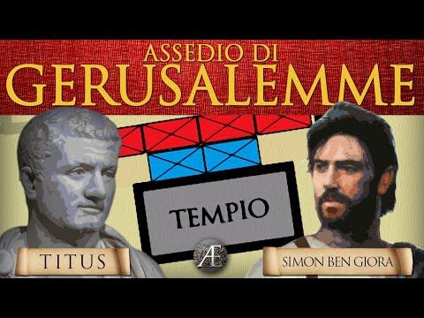 L' Assedio di Gerusalemme (70 d.C.)