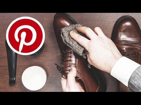 PINTEREST HACKS TESTED! CLEAN YOUR SHOES WITH OLIVE OIL?  | JAIRWOO