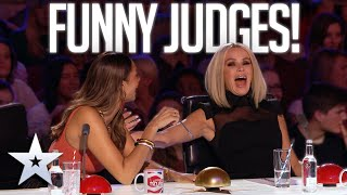 The Judges' FUNNIEST Unseen moments! | Britain's Got Talent