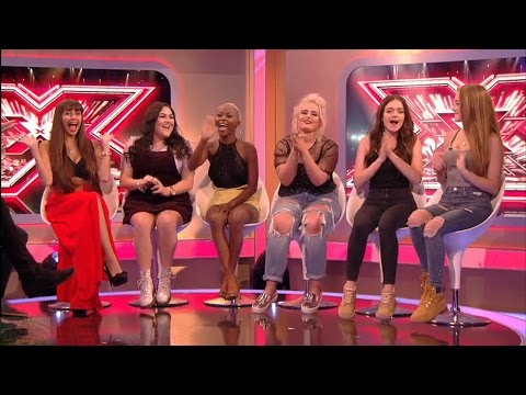 The Xtra Factor UK 2016 6 Chair Challenge Girls Interview Full Clip S13E09