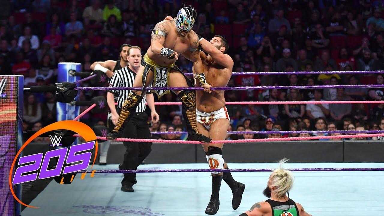 Kalisto & Mustafa Ali vs. Enzo Amore & Ariya Daivari: WWE 205 Live, Oct. 17, 2017