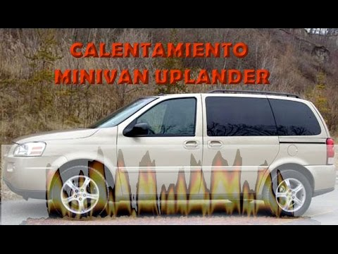 calentamiento minivan chevrolet uplander youtube. Black Bedroom Furniture Sets. Home Design Ideas