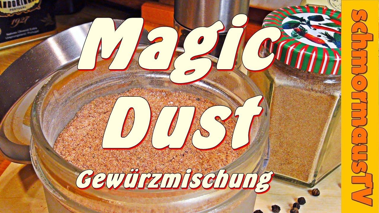 Magic Dust Gewürzmischung Rub Grillgewürz Gewürzmischung