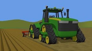 Farm Work_ #Tractors for children and Bayby | Machines for the farmer | Bajka Traktor i Kombajn