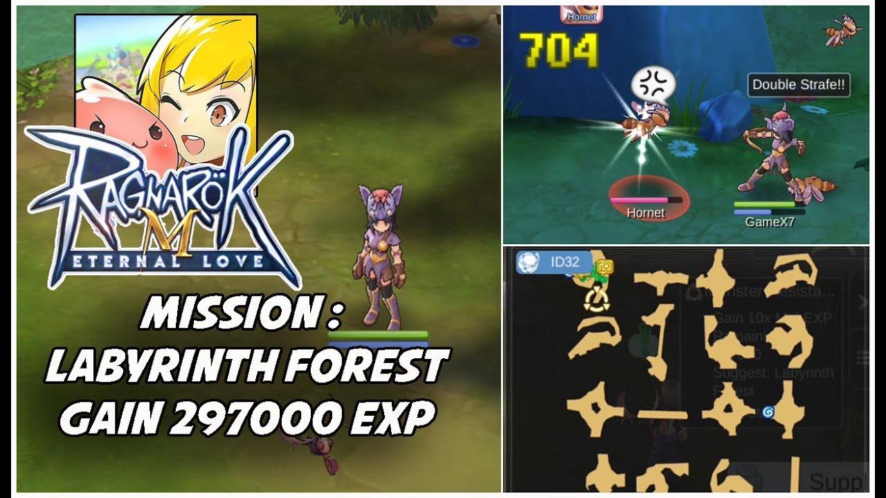 Labyrinth Forest Quest Ragnarok M Eternal Love Mission Youtube