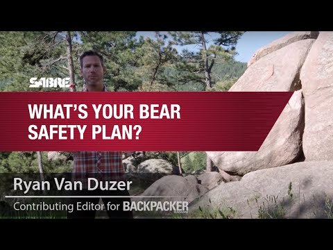 Bear Safety Plan | SABRE's Frontiersman