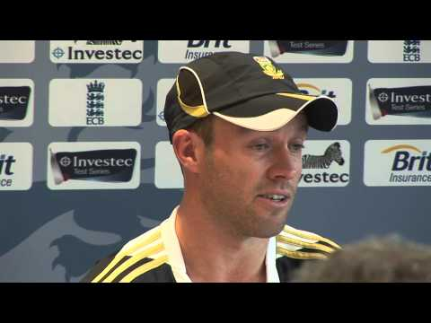 England v South Africa: Headingly Day 1 - AB de Villiers Interview   ISNTV