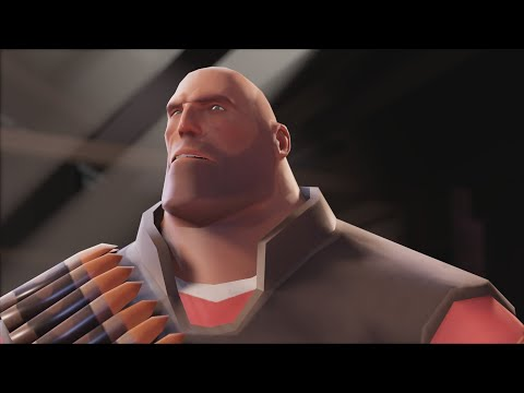 Meet The Heavy But It's Rendered In Source 2 (+ Comparison)