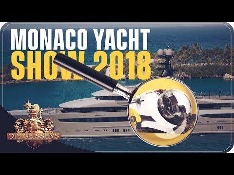 U-BOOT in der Yacht? Monaco Yacht Show 2018 I Die Geissens