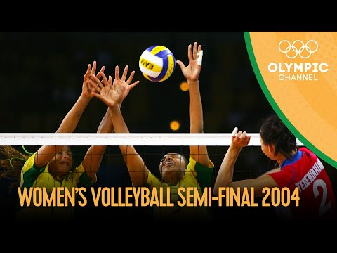 RUS V BRA - Women's Volleyball 2004 | Athens 2004 Replays