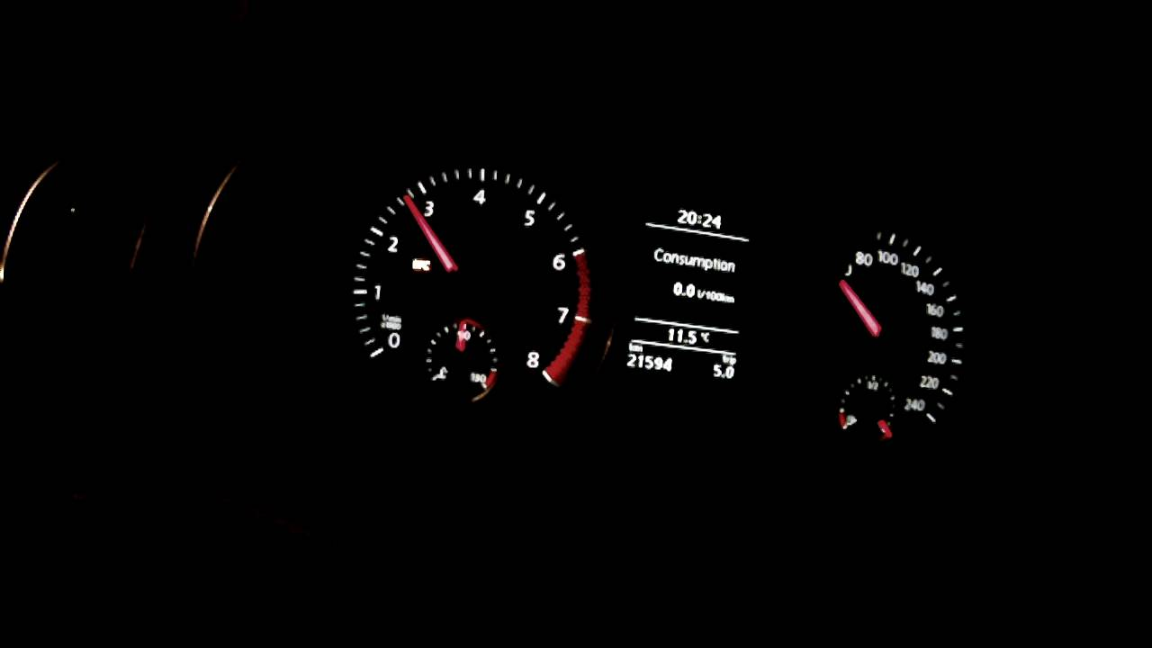 Vw golf 6 1 4 tsi 160 pk hp epc storing warning noodloop limp mode