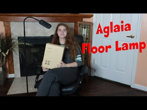 AGLAIA FLOOR LAMP 💥 LED DIMMABLE GOOSENECK LAMP PRODUCT REVIEW 👈