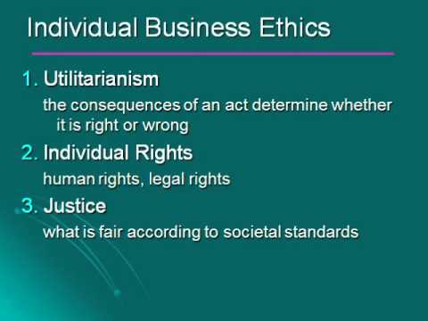 Chapter 3 Making Ethical Decisions Part 1 of 3
