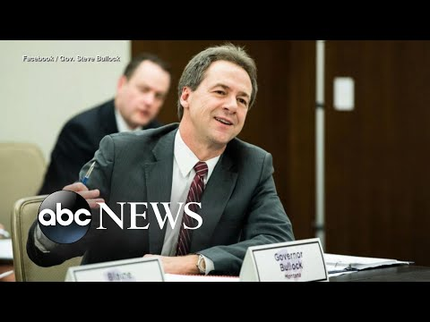 Montana Governor Launches 2020 Presidential Bid