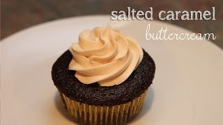 Salted Caramel Buttercream {pintober #3}