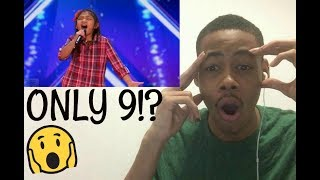 Angelica Hale | YOUNG STAR Stuns Crowd With Powerful Voice on America's Got Talent 2017 Reaction!