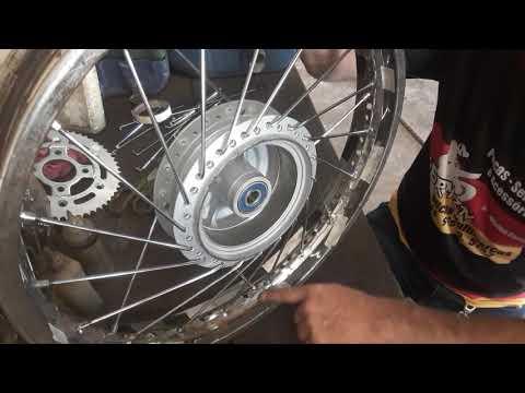 Aro 72 Raios Na Moto Como Fazer Youtube