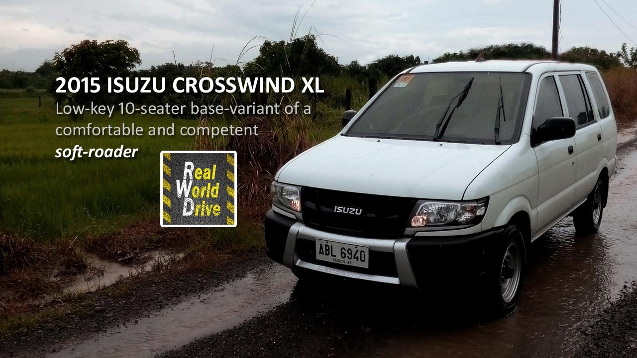 The 2015 isuzu crosswind xl a basic ten seater that s a comfortable and competent soft roader youtube