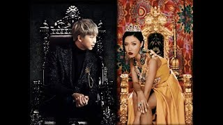BTS and Mamamoo Moments (RM and Hwasa) Pt. 2