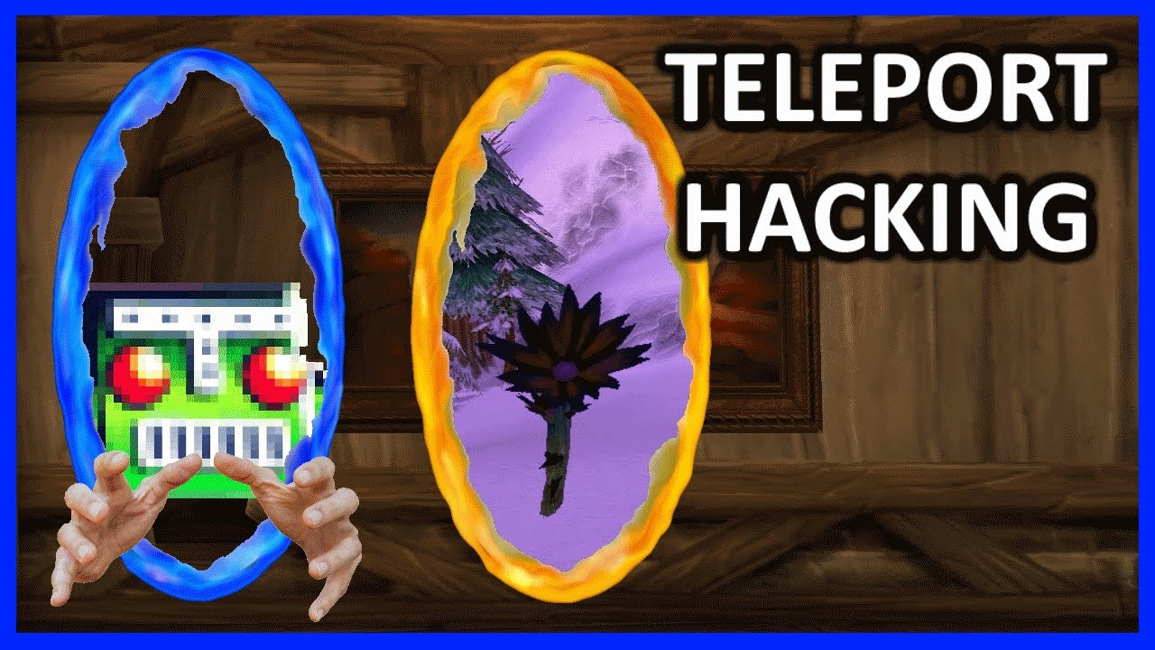 Botters are TELEPORT HACKING in Classic WoW