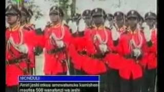 President Kikwete awards 506 Commisioner Officers on ITV News 2011.11.26 20:09:55