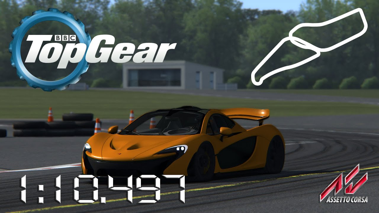 assetto corsa 2015 mclaren p1 top gear test track. Black Bedroom Furniture Sets. Home Design Ideas
