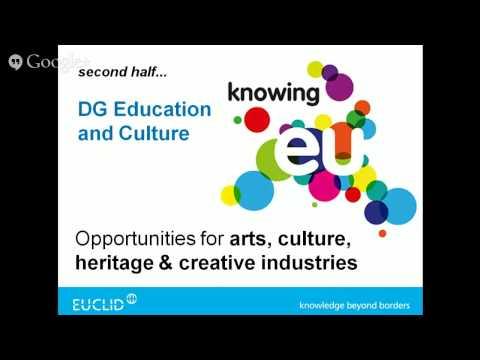 EU Funding for Arts & Culture - May 2015