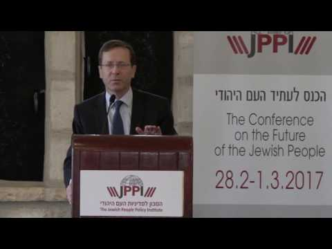 Isaac Herzog - Strategic Responses for Israel: Principles for Public Policy
