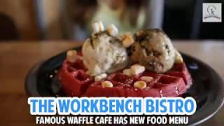 Famous Waffle Cafe Has New Food Menu - The Workbench Bistro