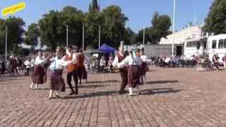 Folk dance - Loksa Tantsijad, Jõgeveste polka 20.8.2016