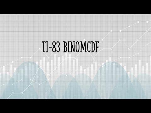 Difference Between BinomPDF and BinomCDF