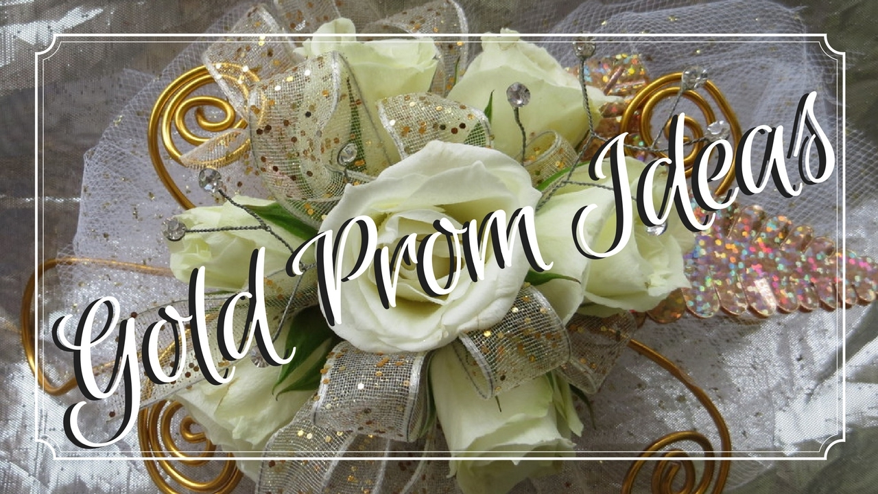 Top Gold Prom Flowers To Match Your Dress Corsages Youtube