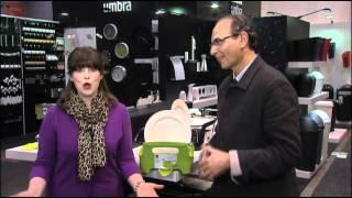 видео Сушилка для посуды Tub Umbra (зеленая)