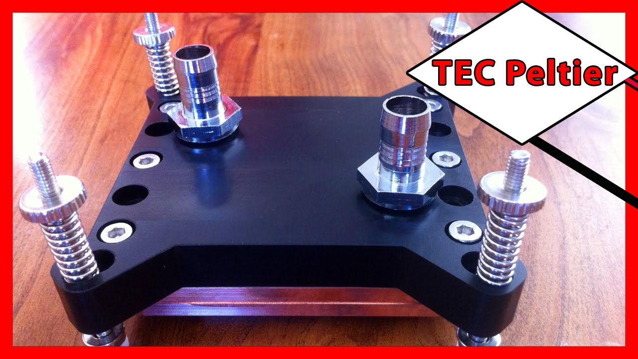 ⚡️ Thermoelectric Cooler Tec Peltier Water Block For