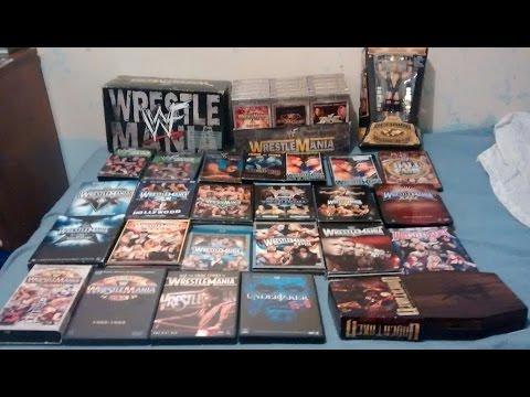 WWE WrestleMania DVD collection - 1985-2016