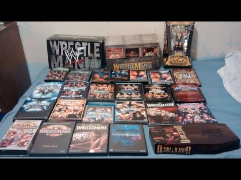 WWE WrestleMania DVD collection - 1985-2016
