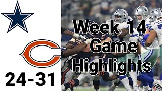 Cowboys vs Bears Highlights | Thursday Night Football Week 14