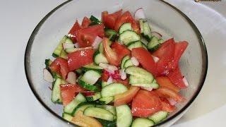 Салат Весенний / Spring Salad | Видео Рецепт