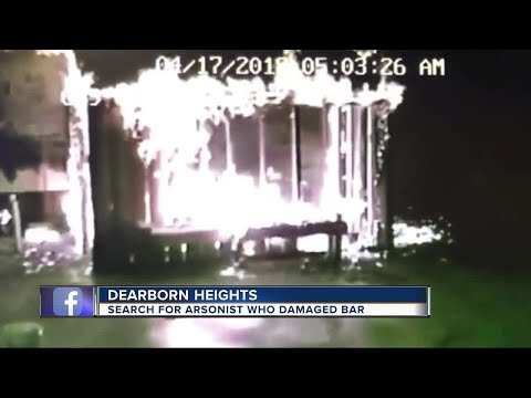 Dearborn Heights Bar Owner Hoping Surveillance Video Catches Arsonist Who Set Fire To His Business