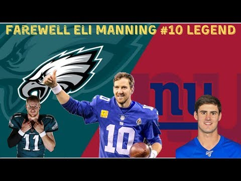 Philadelphia Eagles Vs. New York Giants Live Stream Play By Play & Reactions #EliManning