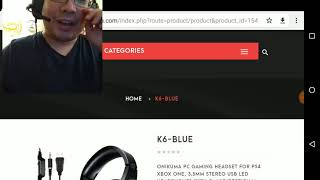ONIKUMA K6 Gaming Headset - Super Low Budget!