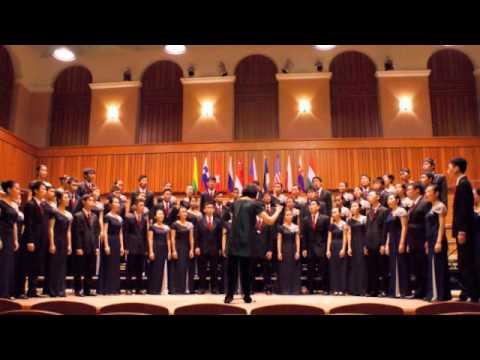 Hwa Chong Choir  - A Basque Lullaby