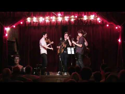 Michael Daves w/ Alex Hargreaves, Dominick Leslie, Larry Cook at Jalopy Theater 8/20/17 - 1ST Set