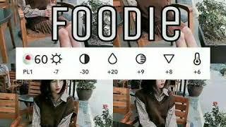 Công Thức Chỉnh Hình Foodie Cực Xinh Cực Chất