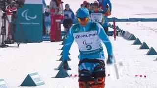 Cross-country skiing: Men's long distance sitting | PyeongC…