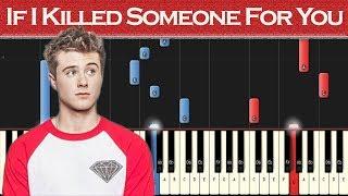Alec Benjamin - If I Killed Someone For You | Piano tutorial