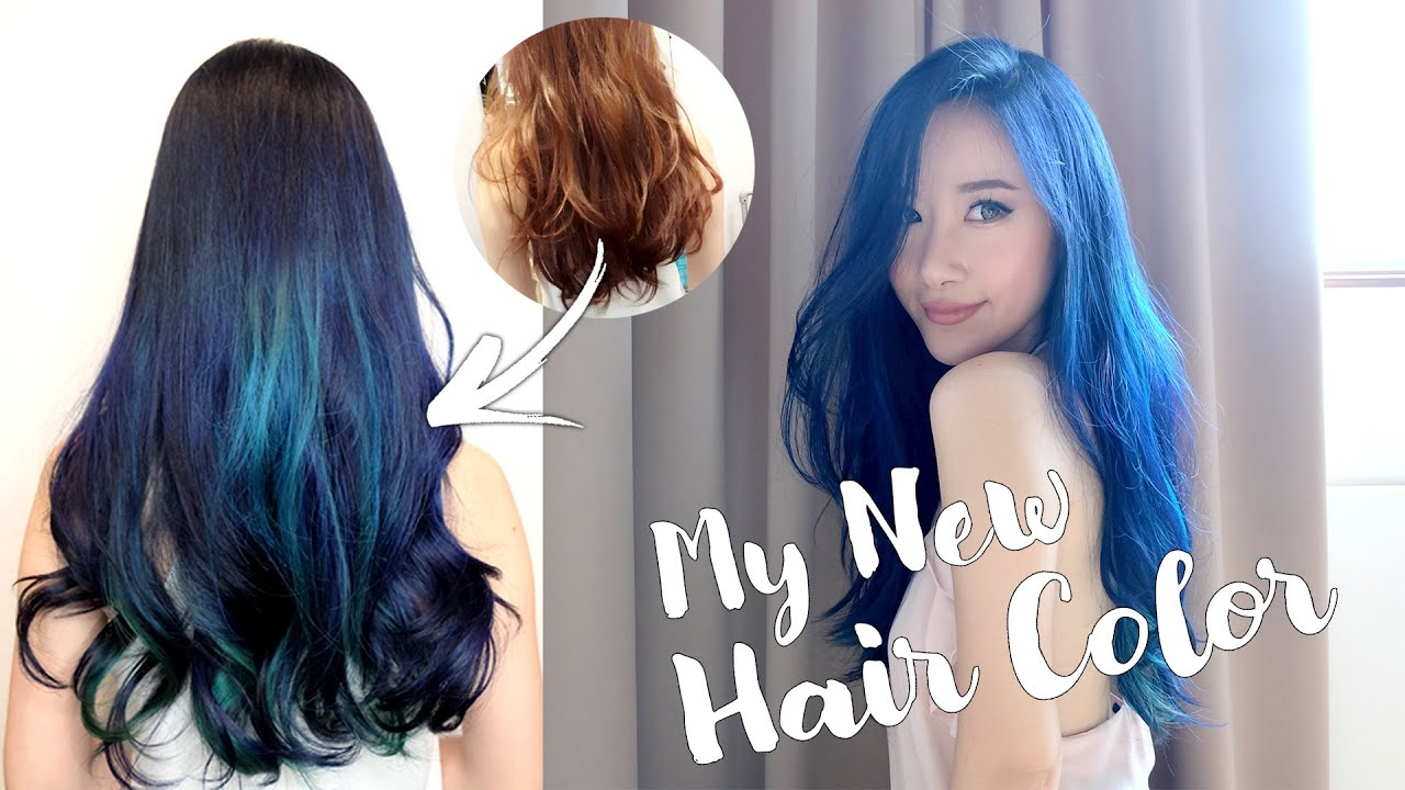 My New Hair Color Step by Step Bleaching & Coloring Process